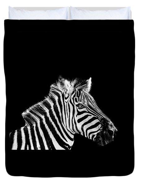 The Zebra Stripes Duvet Cover