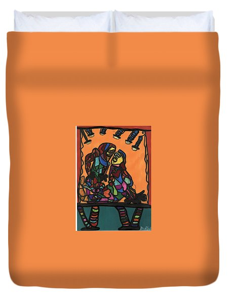 Theater Duvet Cover by Darrell Black