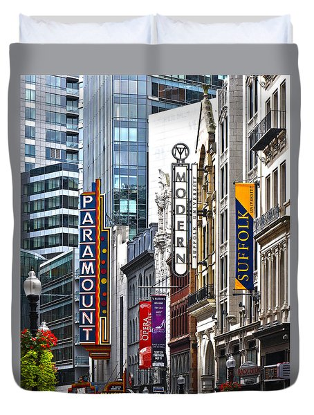 Theatre District Duvet Cover