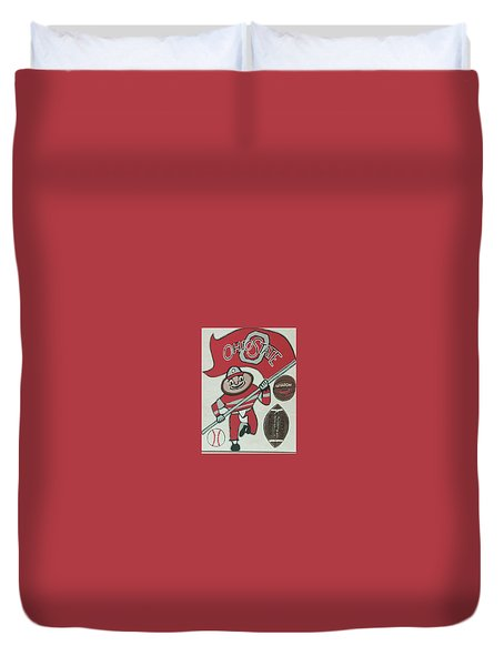 Thee Ohio State Buckeyes Duvet Cover