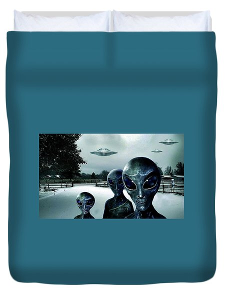 Them Outlanders . . .  Duvet Cover