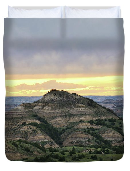 Theodore Roosevelt National Park, Nd Duvet Cover