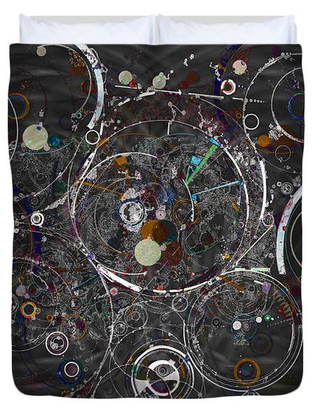 Theories Of Everything Duvet Cover