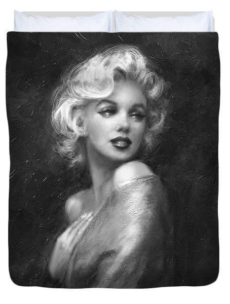 Theo's Marilyn Ww Bw Duvet Cover