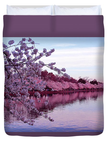 There Was A Time Duvet Cover by Iryna Goodall