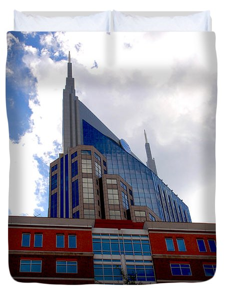 There Where Modern And Old Architecture Meet Duvet Cover by Susanne Van Hulst