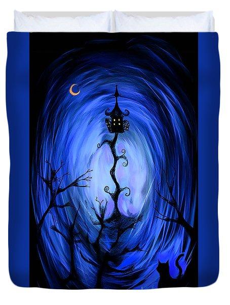 There's A Light Duvet Cover by Alessandro Della Pietra