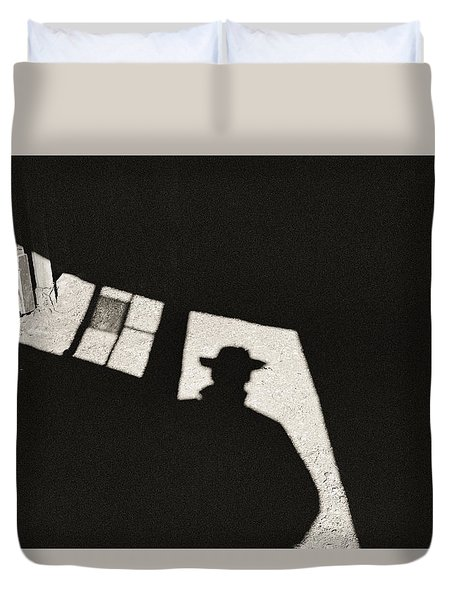 There's A New Sheriff In Town Duvet Cover