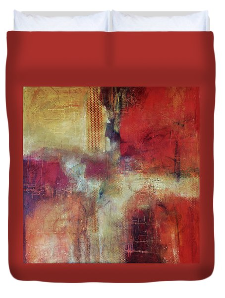 There's Always A Way Duvet Cover by Filomena Booth