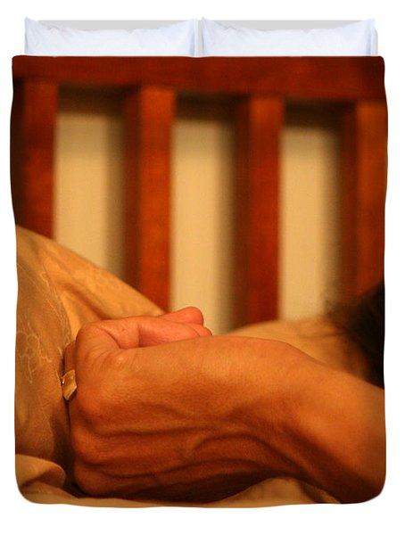 026 - Theresa's Hand Duvet Cover