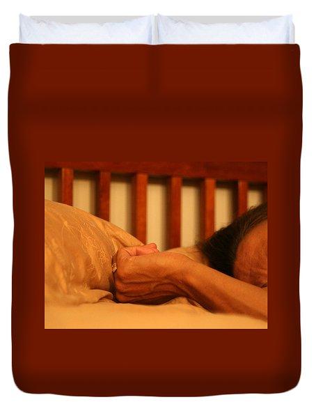 Theresa's Hand Duvet Cover