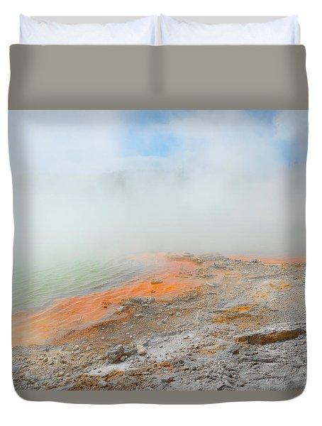 Thermal Wonderland Duvet Cover by Martin Capek