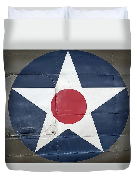 These Colors Don't Run - 2016 Christopher Buff, Www.aviationbuff.com Duvet Cover