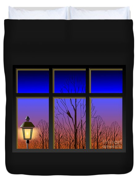 The Window II Duvet Cover