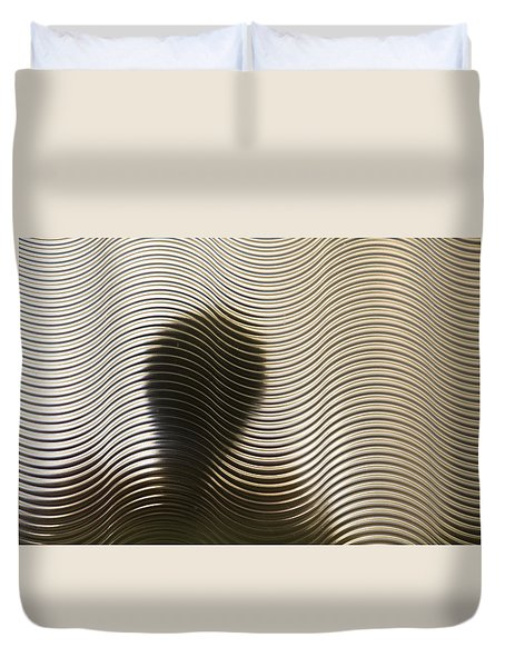 They Are Here Duvet Cover
