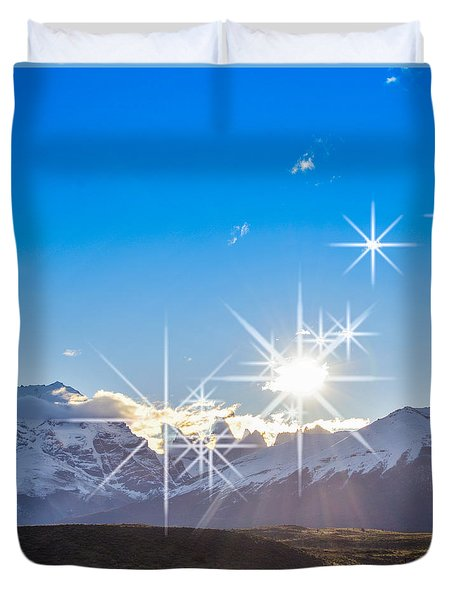 They're Here Duvet Cover