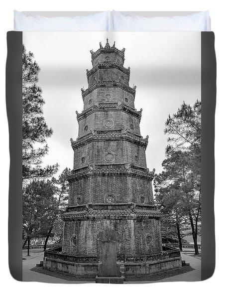 Thien Mu Pagoda Duvet Cover