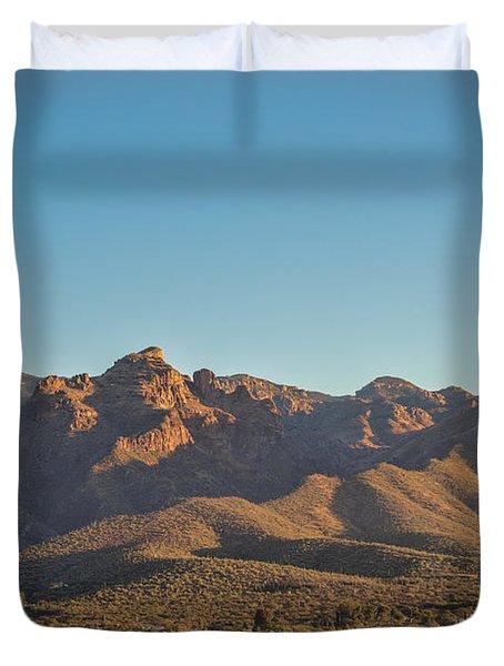 Thimble Peak Panorama Duvet Cover