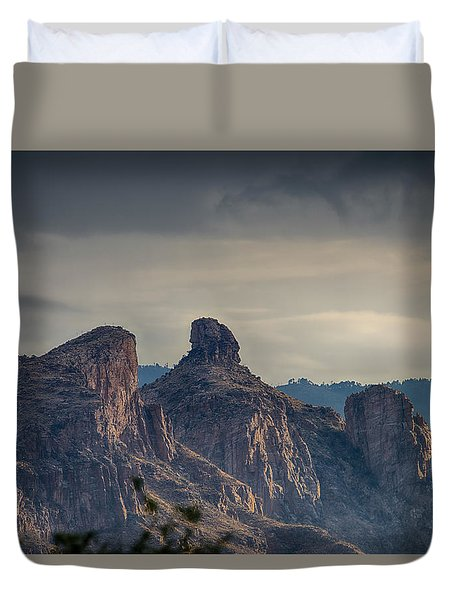 Thimble Peak Sunrise Duvet Cover