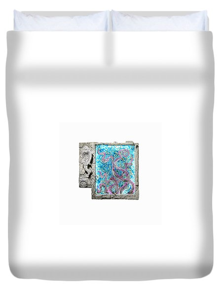 Things Of The Sea Duvet Cover