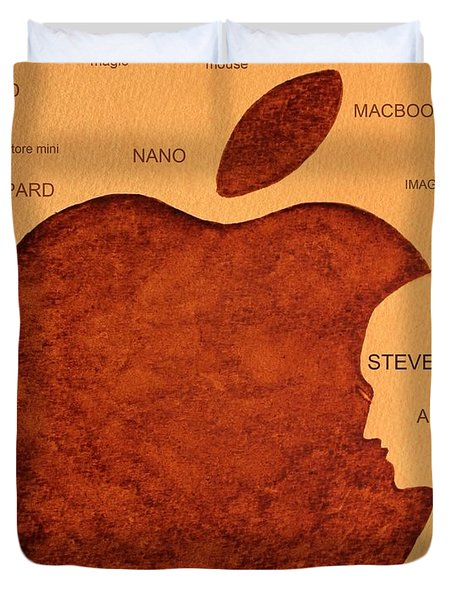 Think Different Steve Jobs 2 Duvet Cover