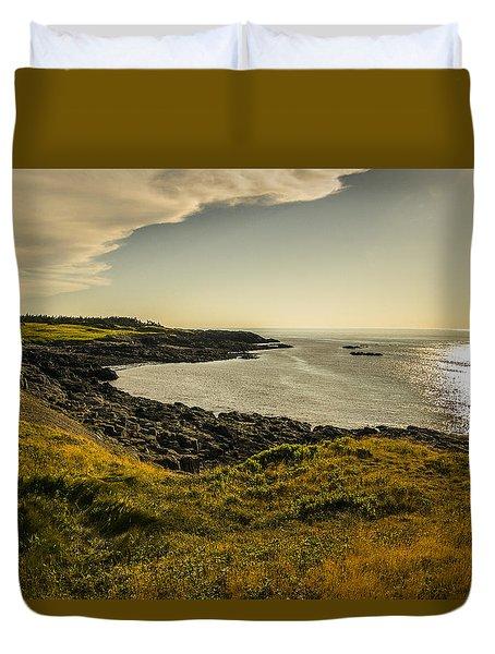 Thinking Sunset Duvet Cover