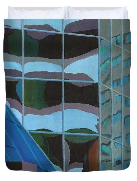 Third And Earll Duvet Cover by Alika Kumar