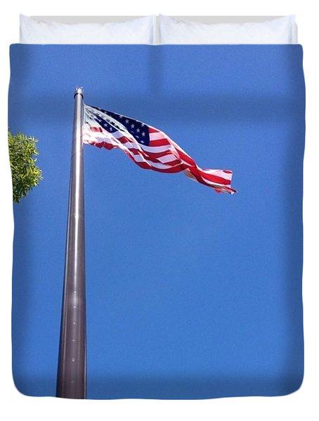 America's Tallest Symbol Of Freedom Duvet Cover