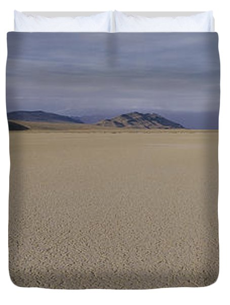 This Is A Dry Lake Pattern Duvet Cover by Panoramic Images