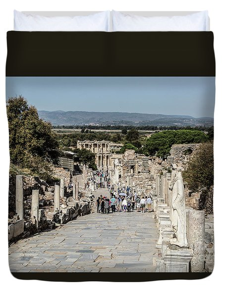 This Is Ephesus Duvet Cover