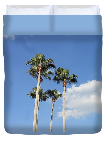 This Is Florida Duvet Cover by Kay Gilley