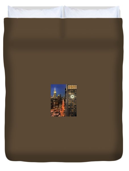 This Is My City Duvet Cover