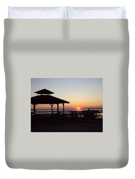 This Is New Jersey Duvet Cover