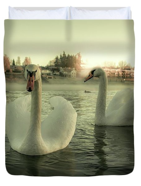 This Is Purity And Innocence Duvet Cover