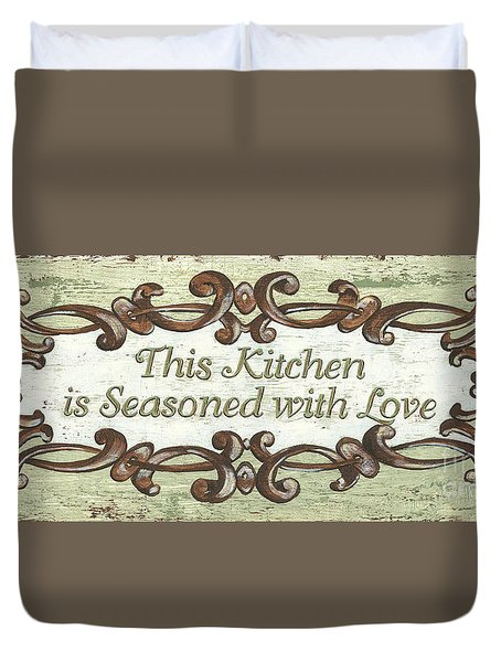 This Kitchen Duvet Cover