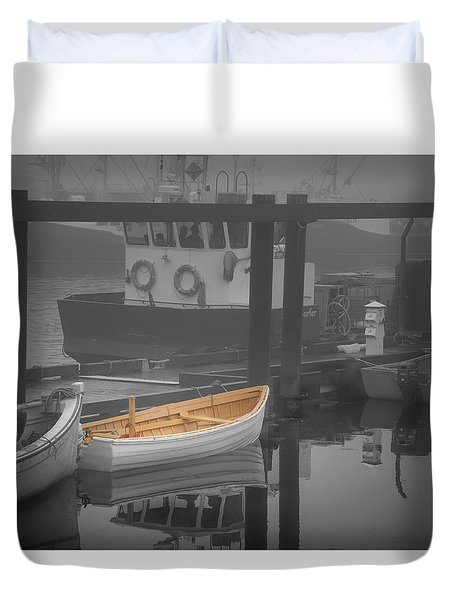 This Little Boat Duvet Cover by Peter Scott