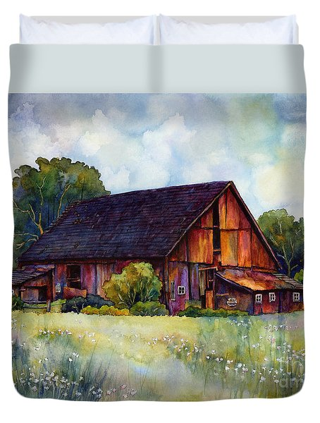 This Old Barn Duvet Cover