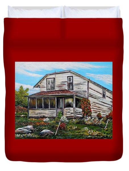 This Old House 2 Duvet Cover
