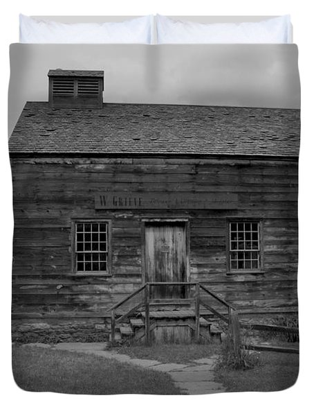 This Old House Duvet Cover by Kathleen Struckle