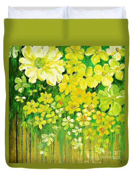 This Summer Fields Of Flowers Duvet Cover