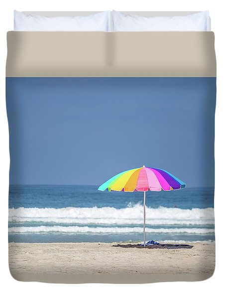 This, This Is Summer Duvet Cover by Peter Tellone