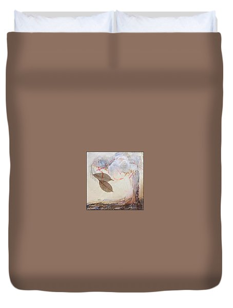 This Time He Said I Love You In Such A Different Way  Duvet Cover