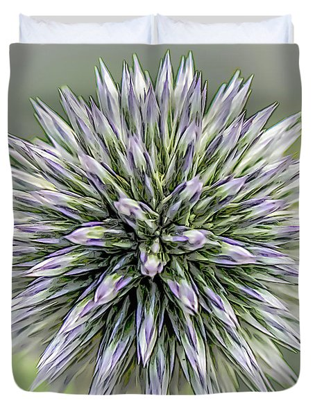 Thistle II Duvet Cover
