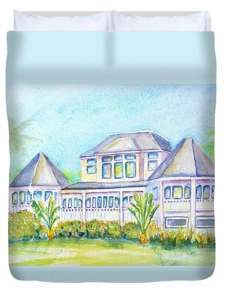 Thistle Lodge Casa Ybel Resort  Duvet Cover by Carlin Blahnik