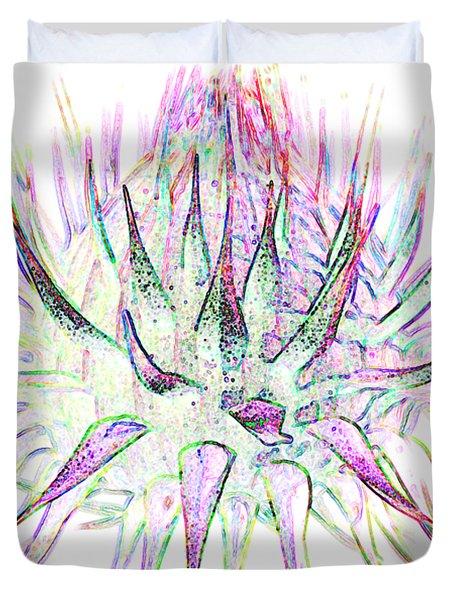 Thistlehead1 T-shirt Duvet Cover