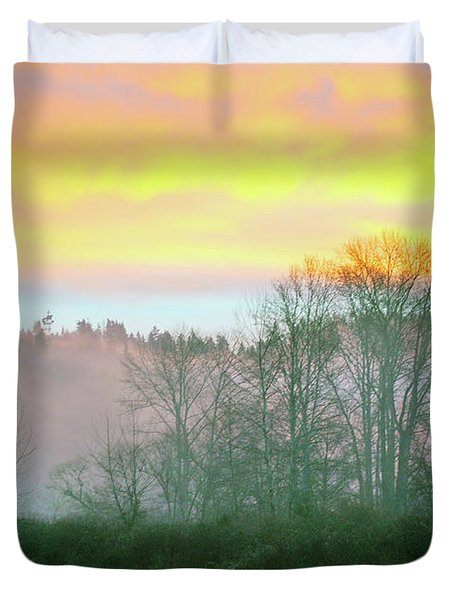Thomas Eddy Sunrise Duvet Cover