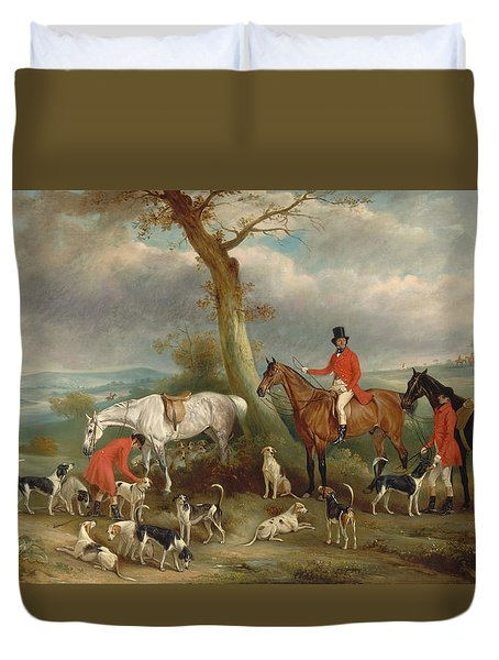 Thomas Wilkinson Duvet Cover by Celestial Images
