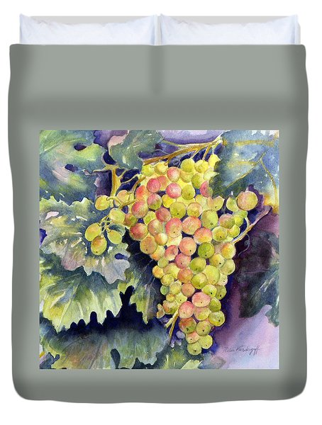 Thompson Grapes Duvet Cover