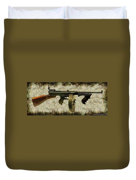 Thompson Submachine Gun 1921 Duvet Cover