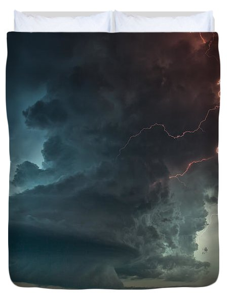 Thor Speaks Duvet Cover